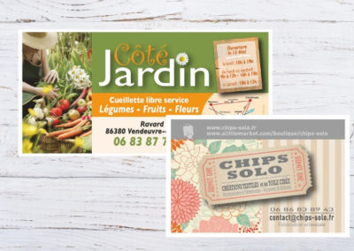 Imprim86 flyers cartes postales