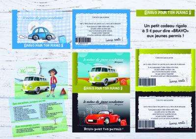 "Carte Cadeau ""Bravo pour ton permis !"""