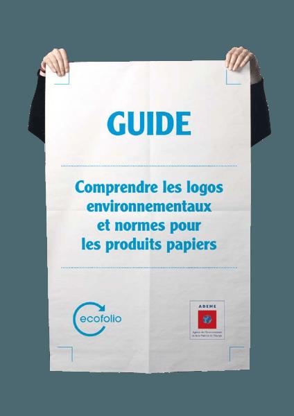 Logos environnementaux pour les produits papier