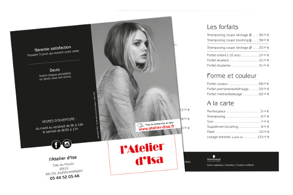 Flyer pour ISA