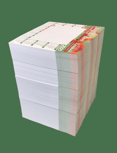 bloc-notes tapis de souris calendrier